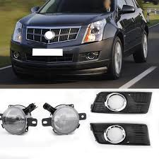 2012 Cadillac Srx Fog Lights Details About 4x L R Car Front Bumper Fog Lamps Driving Light Covers For Cadillac Srx 10 16 Us