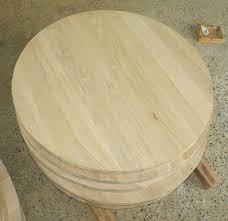 wood circle table top oak table tops semi finish solid wood table tops wood round table