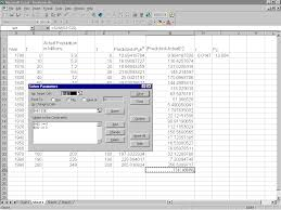 How To Use Solver In Excel Regression Using Excels Solver