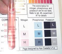 Blood Test Tube Color Chart Experiment 13 Soil Testing