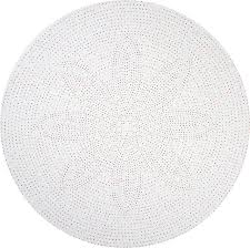round white table top. multicolor dot round linen tablecloth, 68\ white table top