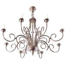 large art deco chandelier from belgium