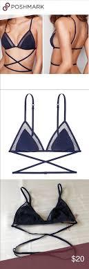 Victorias Secret Triangle Strappy Wrap Bralette Brand New