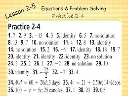 solving equations with variables on both sides worksheet answers 2