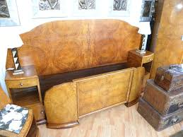 art bedroom furniture. fabulous art deco modernist amboyna burl queen bedroom suite furniture
