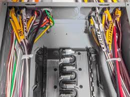 electrical service panel box basics for homeowners how an electrical circuit breaker panel is wired