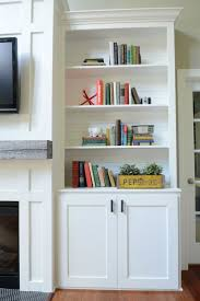 Living Room Shelves Decorating 17 Best Images About Decorating Bookshelves Flanking Fireplace On