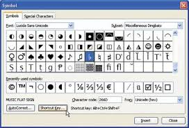.ø°≠≭, symbols to copy and paste in a very simple way to copy musical notes and other symbols related to music. Sharps Flats And Naturals In Word