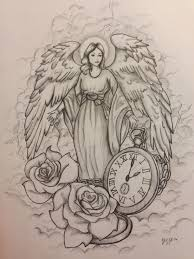 60 Talented Angel Tattoo Design Sketch About Perfect Tattoo Design