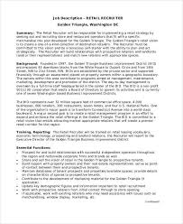 Executive Recruiters Job Description 28 Business Job Description Templates Pdf Word Free Premium