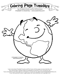 Light Bulb To Save Earth Coloring Pages Download