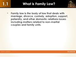 introduction to family law 5 6 1 1 what is family law