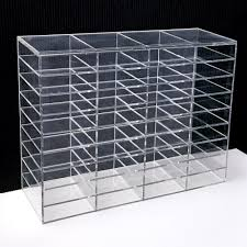 Acrylic Display Stands Uk LashArt Clear Acrylic Eyelash Extensions Display Shelf Holder UK 48