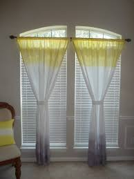 ... Yellow And Gray Kitchen Curtain Country Kitchen Curtains Chair Cushion  Pillow White Window: ...