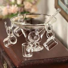 punch bowl set kmart dollhouse miniature party kitchen miniatures