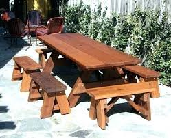 picnic tables with detached benches picnic table plans detached benches picnic table plans detached benches square