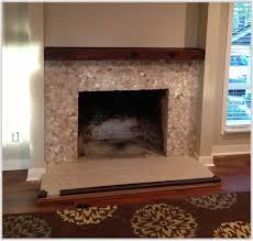 mosaic tile fireplace surround ideas