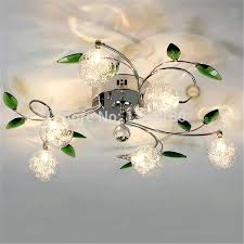 6 light ceiling light 6 light crystal pendant pallas chrome effect