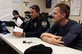 Police Officer Skills German Officer Interns With Quincy Police Broadens Police Skills