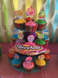 Shopkins Cupcake Toppers Ideas Shopk On Diy Shopkins Cake Videos