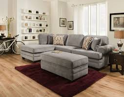 Sectional Living Room Set American Furniture 7000 2 Pc Sectional Living Room Set By American