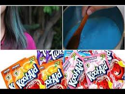 Kool Aid Hair Dye Chart For Dark Hair Diy Dip Dye Hair With Kool Aid Works On Dark Hair