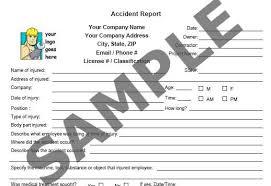 Safety Officer Incident Report Sample Elim