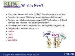 Khan Lewis Phonological Processes Chart Overview Of The Khan Lewis Phonological Analysis Klpa 3