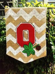 burlap garden flag ohio state buckeyes com