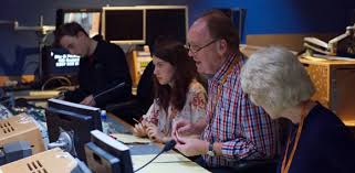tv producer it crowd tv producer trains nfts broadcast production students