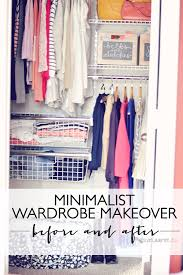 diy closet makeover before and after