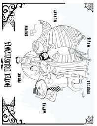 hotel transylvania 2 coloring pages dennis hotel 3 coloring pages printable pdf