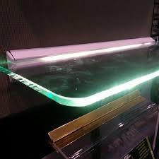 Led Floating Glass Shelves Furniture Home Design Led Floating Glass Shelves Fencing 39