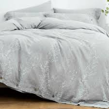 oreise duvet cover set king size washed