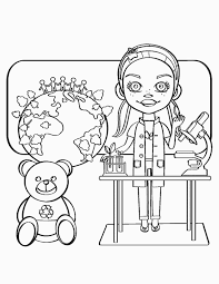 Science Coloring Pages For Free Printable Science Coloring Pages
