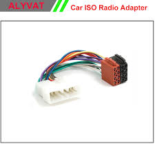 car radio stereo iso wiring loom adapter cable connector for daewoo car iso radio wiring harness for daewoo nexia espero 1995 adapter car iso radio wiring harness