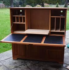 hide away furniture. Hideaway Desk, Workstation, Bureau Solid Cherry Wood Great Quality Was £3000 Hide Away Furniture R