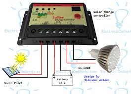 solar panel charge controller wiring diagram solar how to connect solar panel to battery mppt solar charge on solar panel charge controller