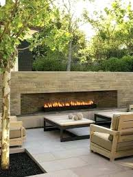 backyard fireplaces ideas excellent best outdoor gas fireplace on pertaining to photos p contemporary outdoor fireplace