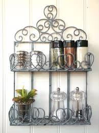 vintage style metal wall shelf unit storage unit kitchen e rack shabby chic