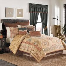 southwestern comforter sets king rustic bedding lodge log cabin 0 5 throughout southwest set plans 16