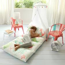 Delightful Butterfly Craze Kidu0027s Floor Pillow Bed Cover   Use As Nap Mat, Portable  Toddler Bed Alternative For Sleepovers, Travel, Napping, Or As A Lounger  For Reading ...