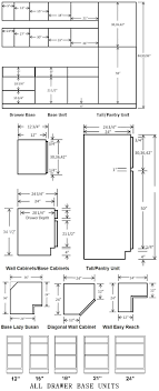 Shaker Cabinet Door Dimensions Standard Cabinet Dimensions Available From Most Cabinet Suppliers