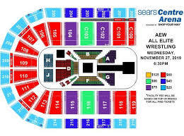 Seating Charts Sears Centre Arena Sears Centre