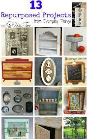 diy repurposed furniture. 13 DIY REPURPOSED PROJECTS! ~~ Via KNICK OF TIME @ Knickoftime.net Diy Repurposed Furniture