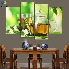 kitchen paintingsAliexpresscom  Buy 4 Panels modern kitchen art Picture Painting