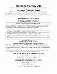 Occupational Therapy Resume Examples New School Based Occupational