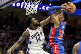 76ers Reserve Center Norvel Pelle Brought Teammates To