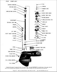 hp mercury outboard lower unit diagram diagram mercury 50hp thunderbolt lower unit lube problems questions page