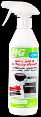 <b>Средство чистящее HG</b> д/духовки гриля барбекю – купить в сети ...